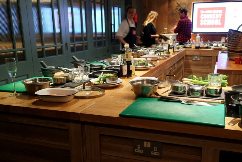 A Taste of Japan at The Jamie Oliver Cookery School