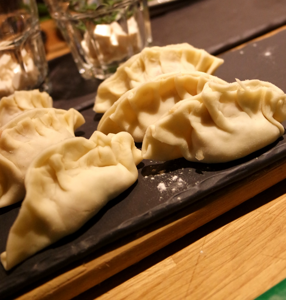 Jamie Oliver Cooking School Taste of Japan Gyoza