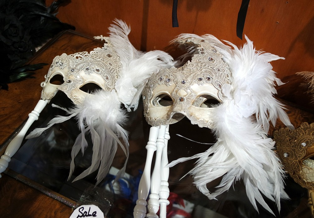 Mask shopping in New Orleans