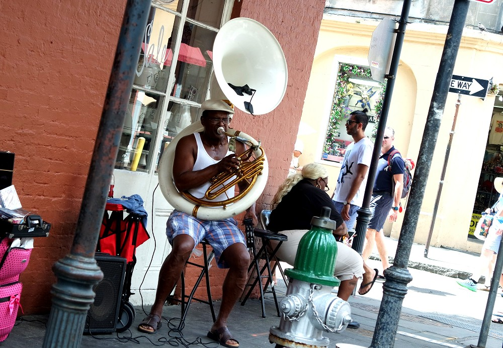 New Orleans Jazz player