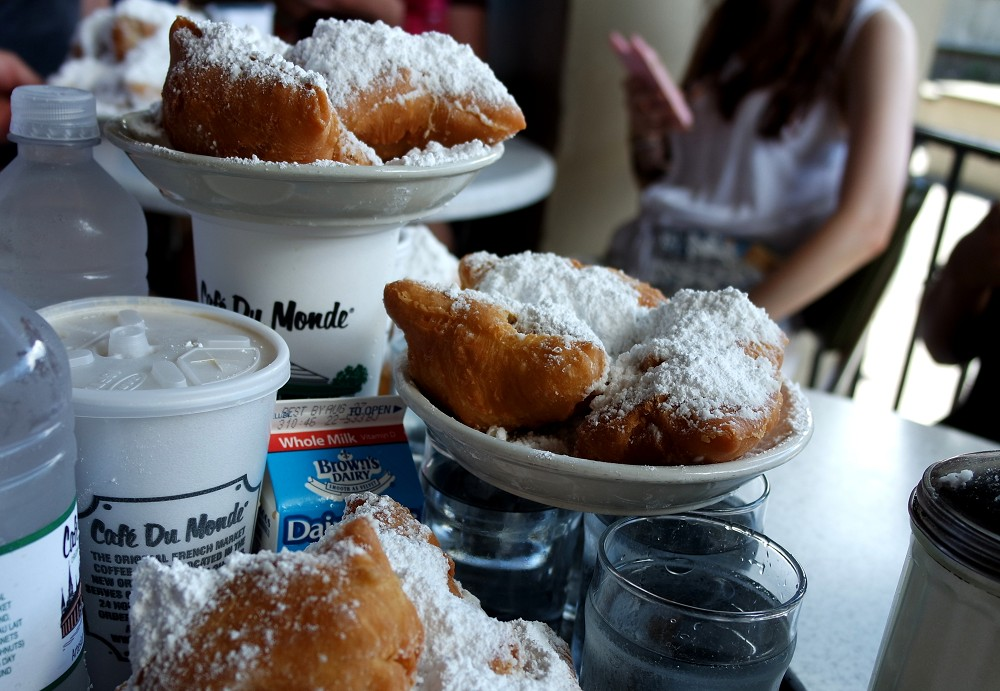 French beignets in New Orleans
