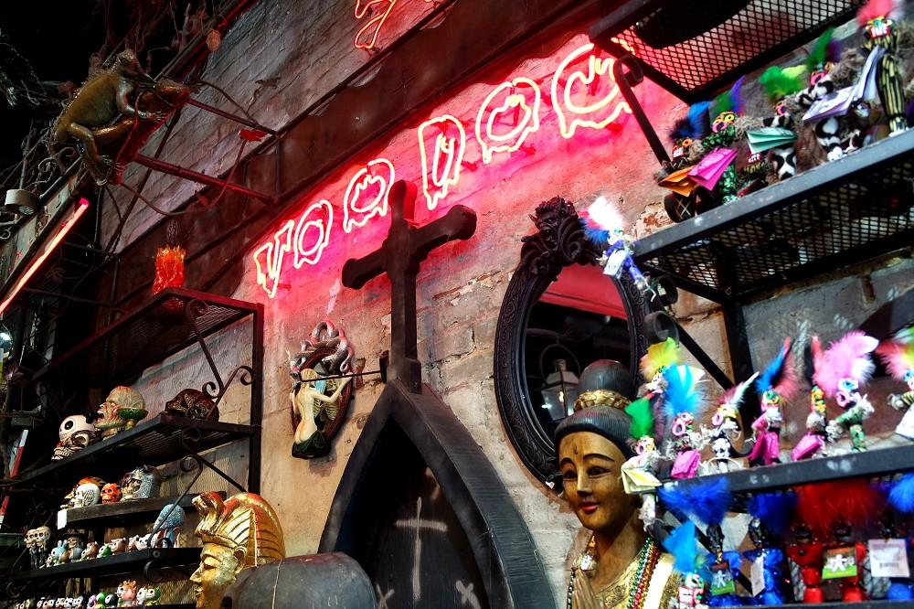 Voodoo store in New Orleans