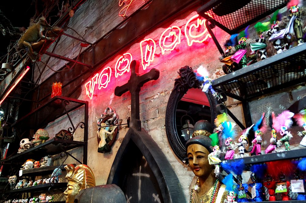 Voodoo store in New Orleans