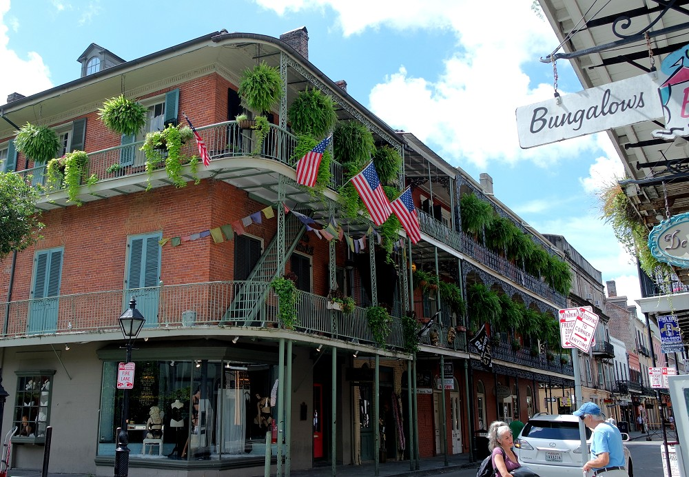 Buildings in New Orleans