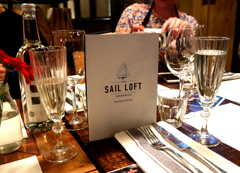Sail Loft London Greenwich restaurant review