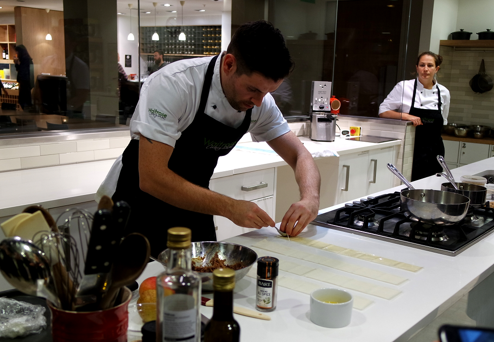 Waitrose Cookery School Christmas