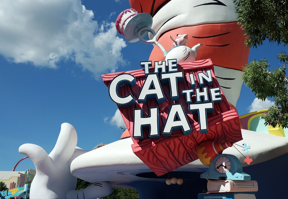 Dr Seuss, Universal Studios, Orlando