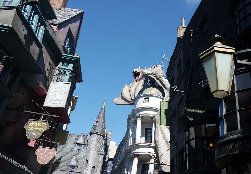 Diagon Alley, Universal Studios theme park, Florida
