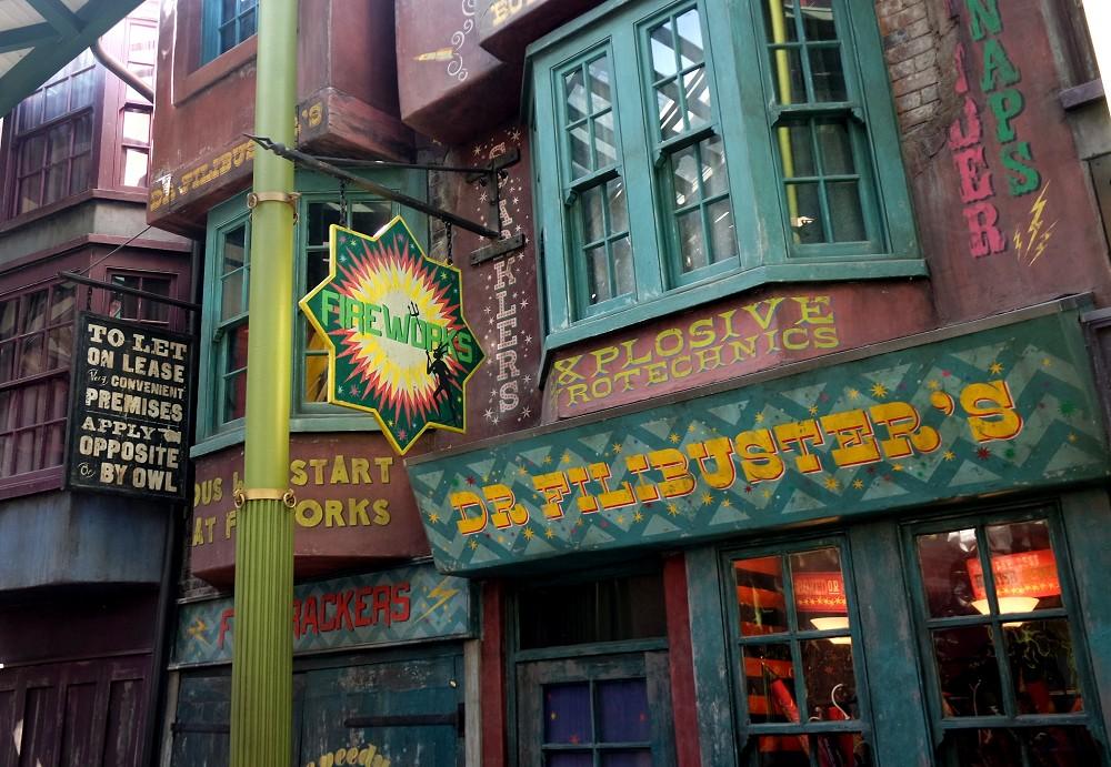 Diagon Alley, Universal Studios, Florida