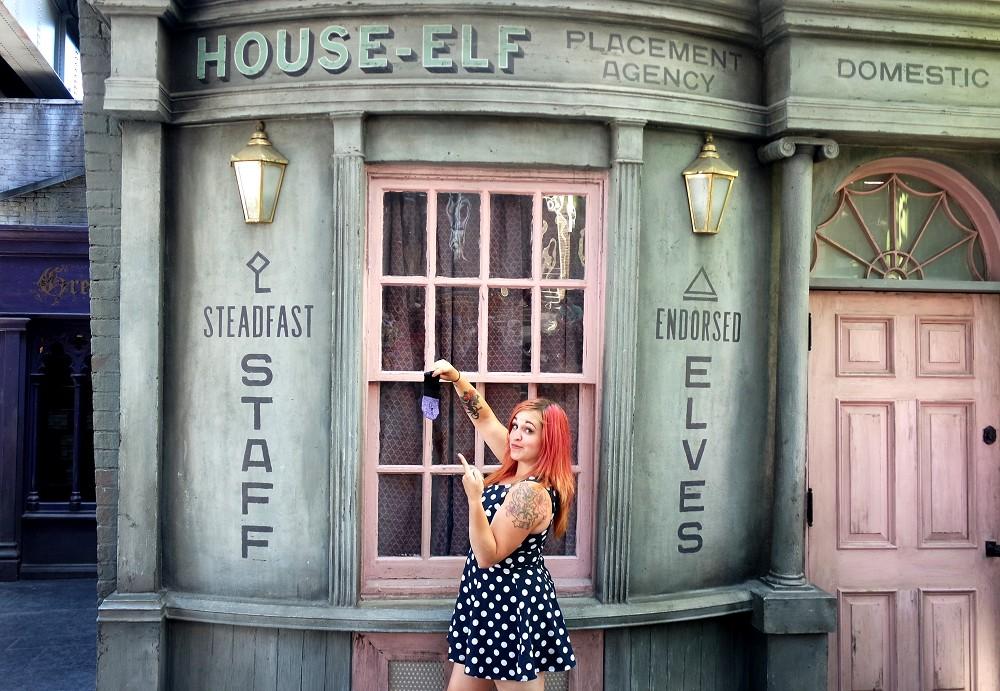 Diagon Alley, Universal Studios theme park, Florida
