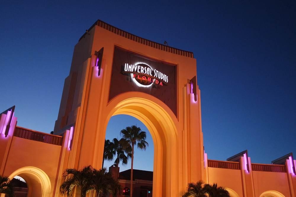 Universal Studios holiday for young adults