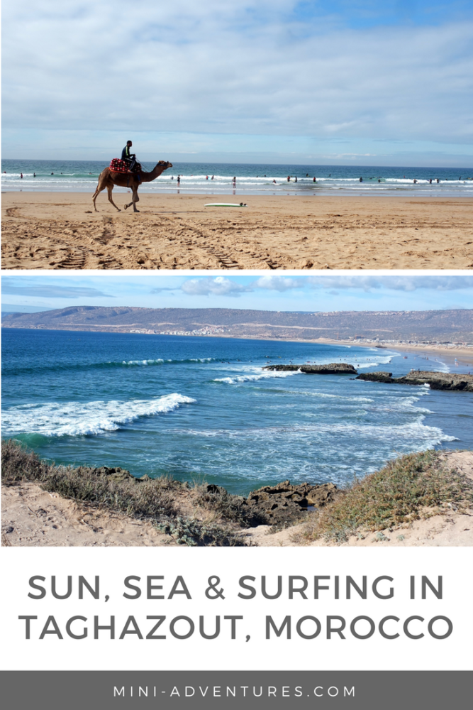 Sometimes, stepping out of your comfort zone makes for mega awesome travel experiences. Which is why I decided to go all out and book myself a long weekend in Taghazout, Morocco, to try and learn to surf!