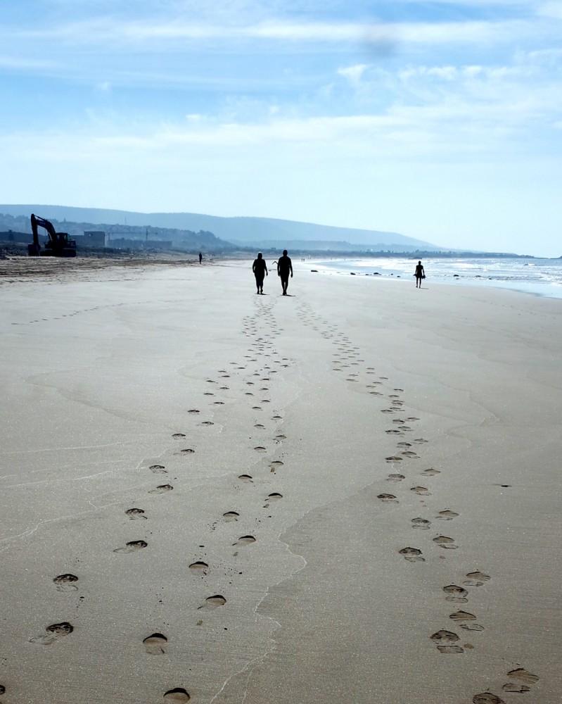 Taghazout Bay beach, Morocco