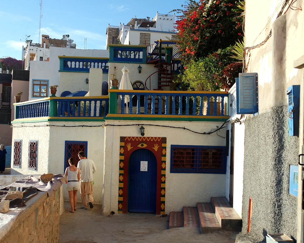 Taghazout streets, Morocco