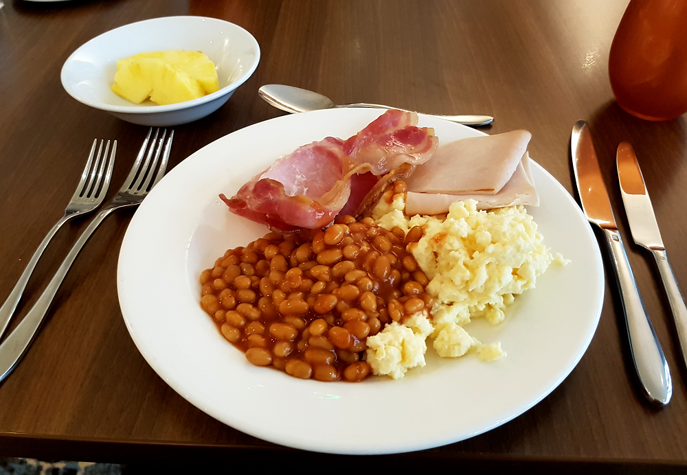 Breakfast at Mercure Holland House Hotel, Bristol