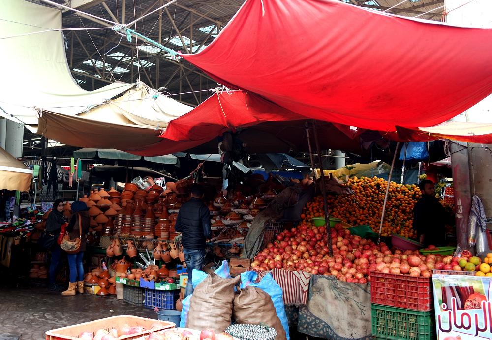 Souk El Had, Agadir, Morocco