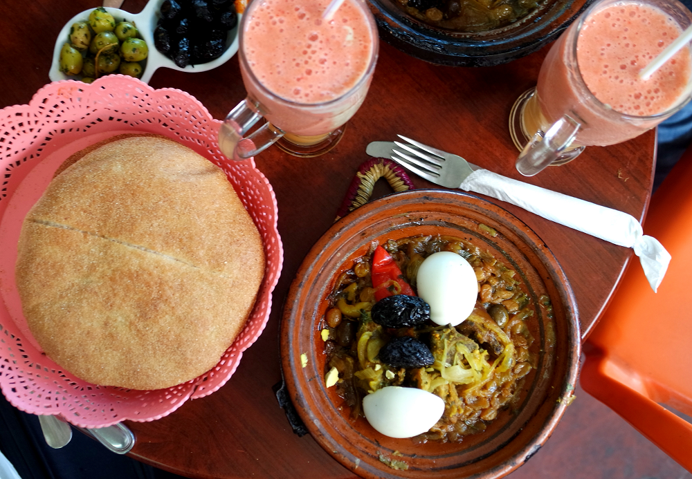 First Time Shopping in a Moroccan Souk: Tagine in Souk El Had, Agadir, Morocco