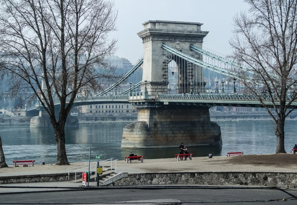 Chain Link Bridge over the Danube, Budapest