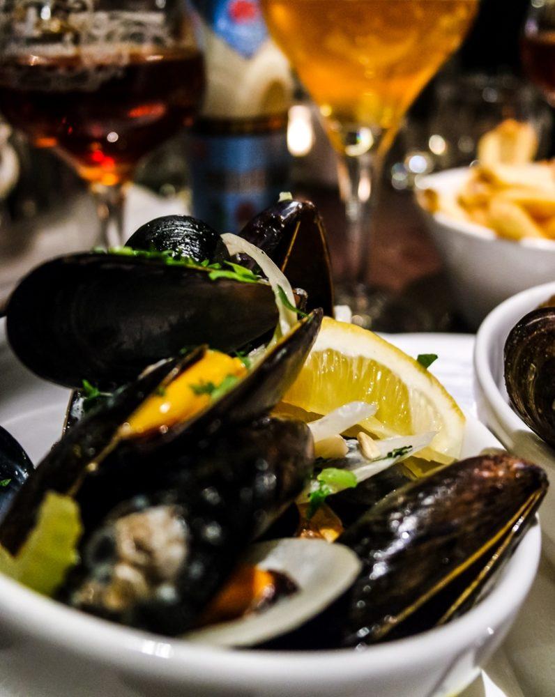 Moules at Belgo King's Cross - Belgian Restaurant in London