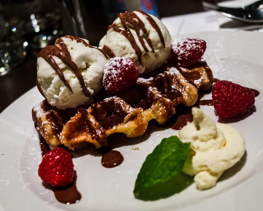 Dessert at Belgo King's Cross - Belgian Restaurant in London