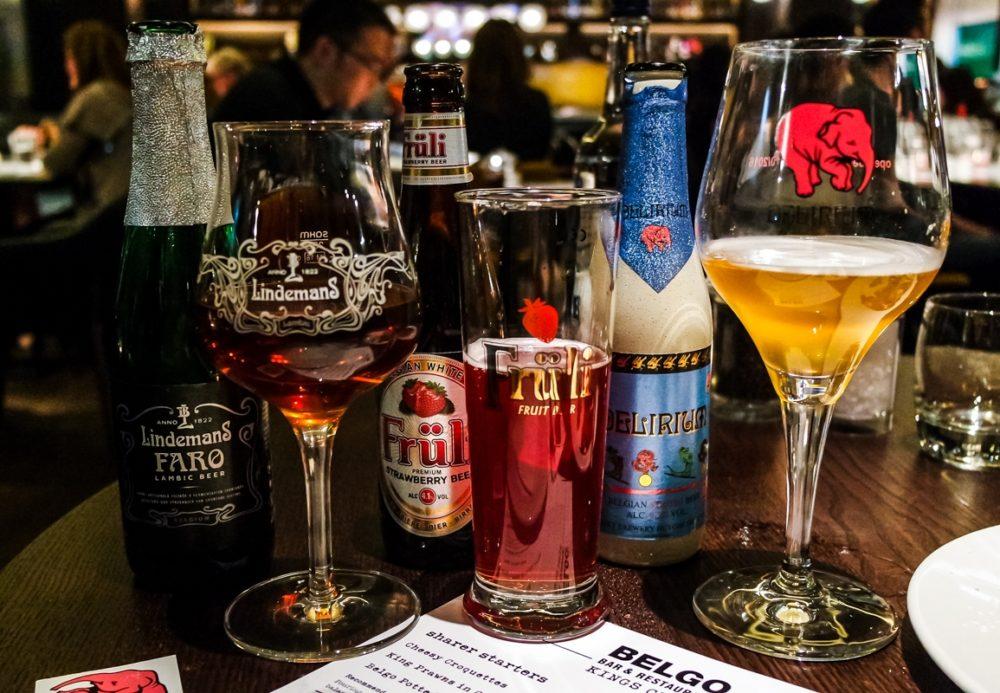 Beers at Belgo King's Cross - Belgian Restaurant in London