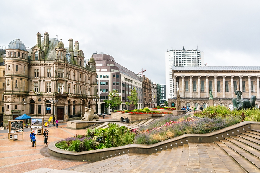 Taking a day trip to Birmingham from London by train
