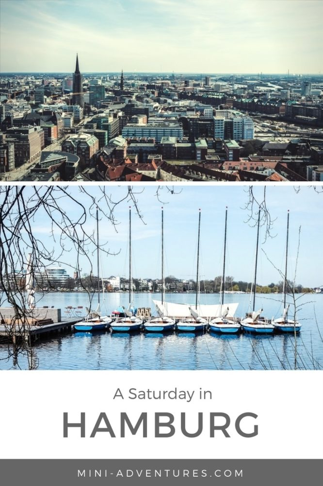 How we spent Saturday on our weekend city break in Hamburg - including what we ate, boating on the Alster and incredible city views!