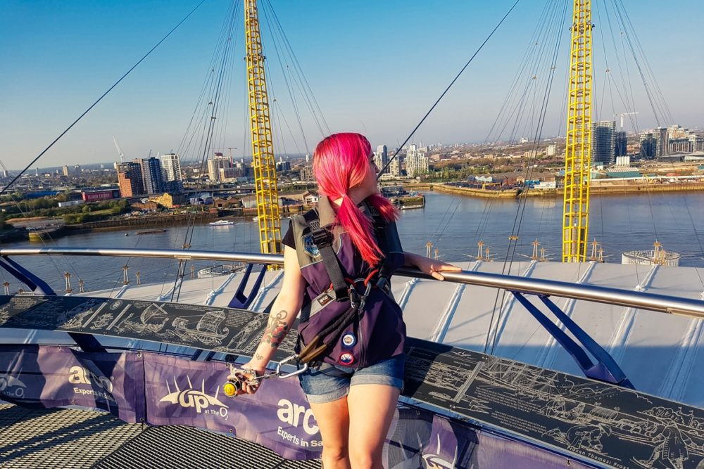 A Head For Heights: Up at The O2