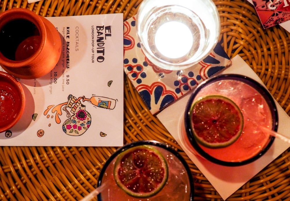 El Bandito pop up bar, London