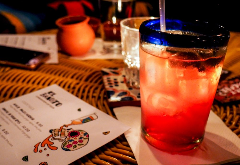 El Bandito pop up Mexican bar, London