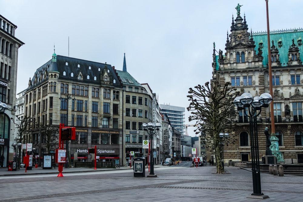 Rathaus Building, Hamburg