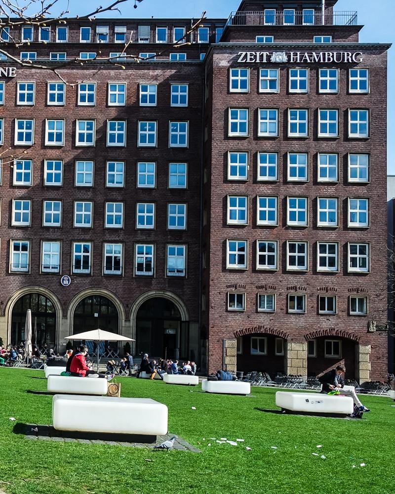 Hamburg Domplatz
