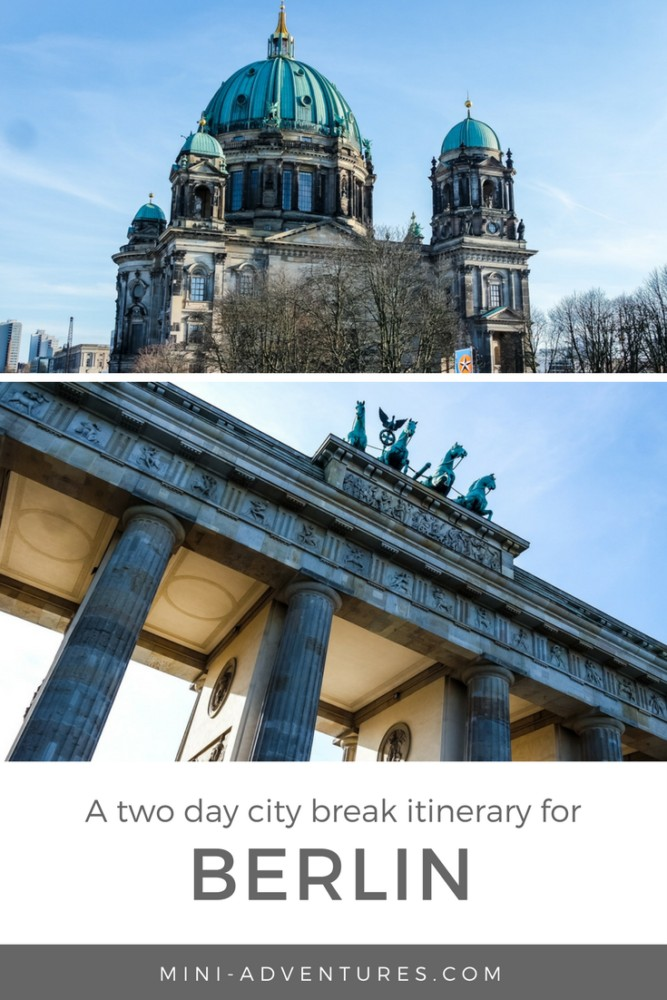 Planning a short weekend visit to Berlin? This Berlin two day itinerary will give you ideas of what to do, see, and eat - from must-sees to quirky stops!