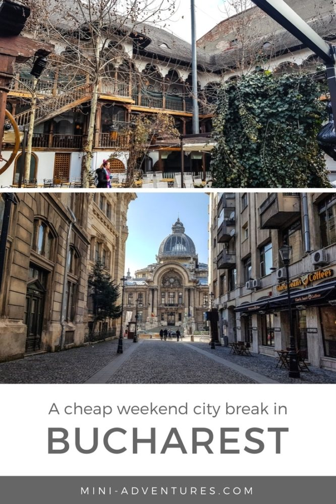 Looking for a European weekend city break on a budget? Try Bucharest - it has gorgeous architecture, fun street art and cheap eats at great restaurants!