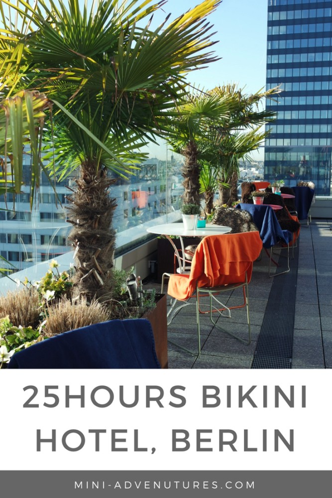 Looking for a quirky and cool place to stay in Berlin? 25hours Hotel Bikini might just be the place for you. Check out the jungle vibes and amazing rooftop views!