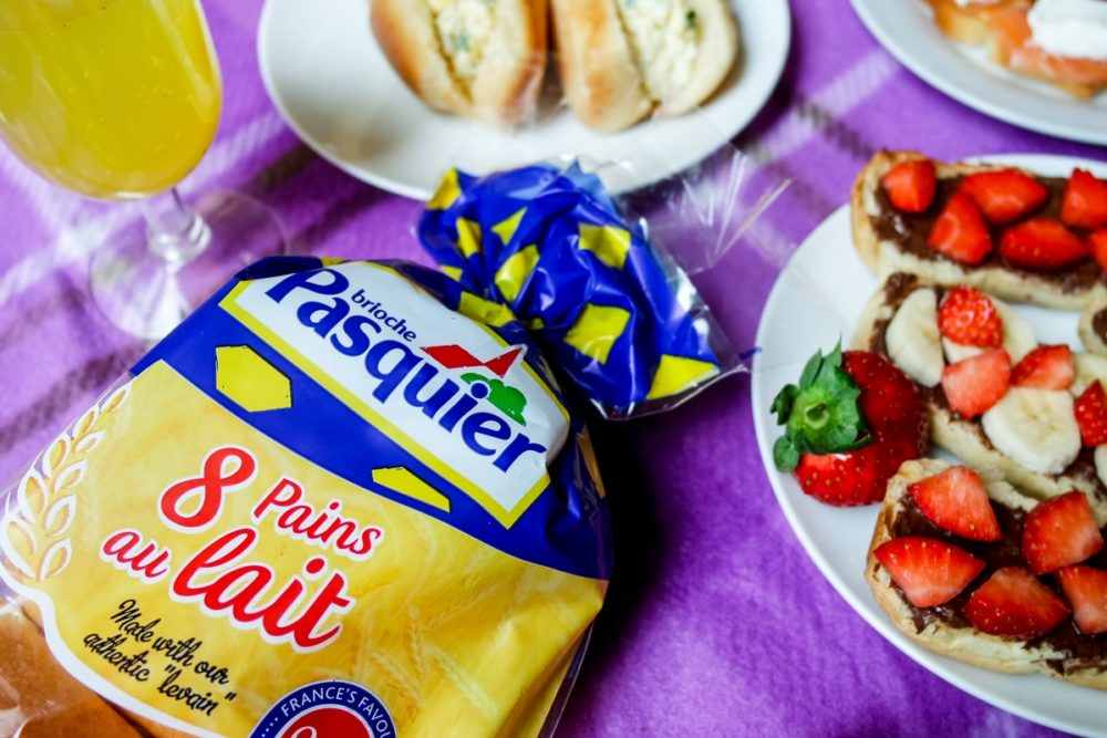 Picnic ideas with Brioche Pasquier