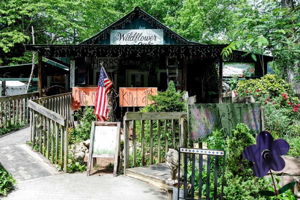 Wildflower Cafe, Mentone, Alabama