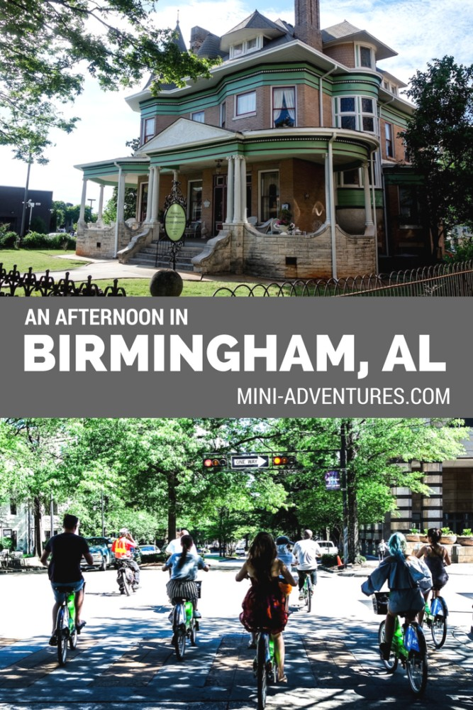 An afternoon in Birmingham, Alabama | Day trips | Travel Blog | Bike Travel | City Guide | Travel Journal | Group Travel | USA | Food | Architecture