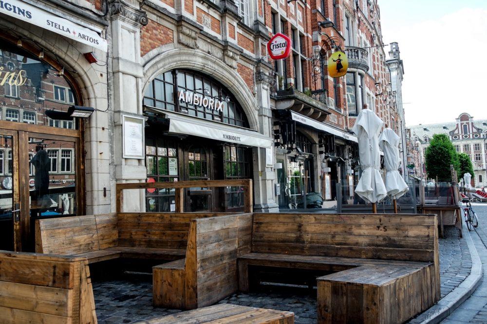 Streets of Leuven, Belgium