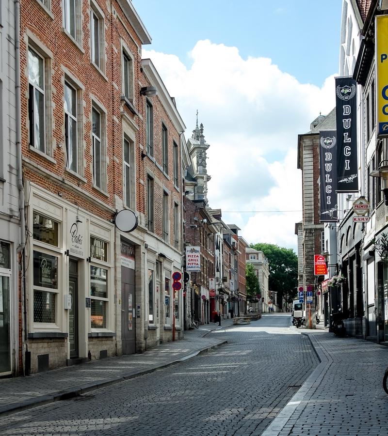 Street in Leuven, Belgium