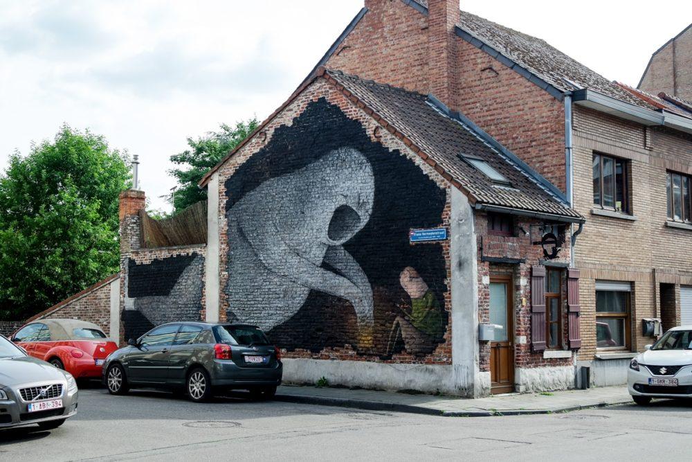 Street art in Leuven, Belgium