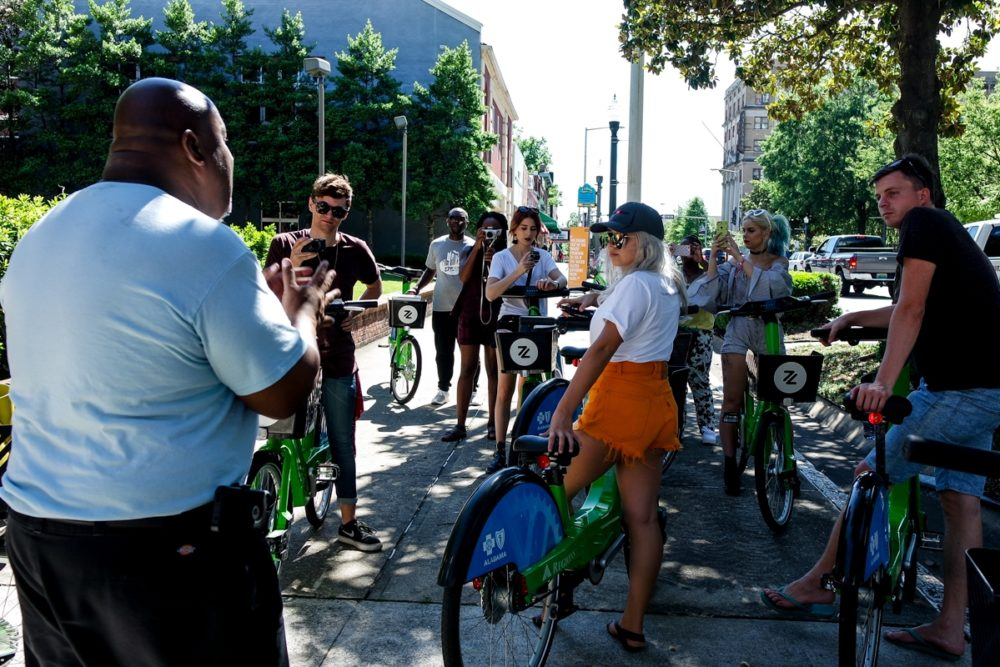 Zyp bike share tour of Birmingham