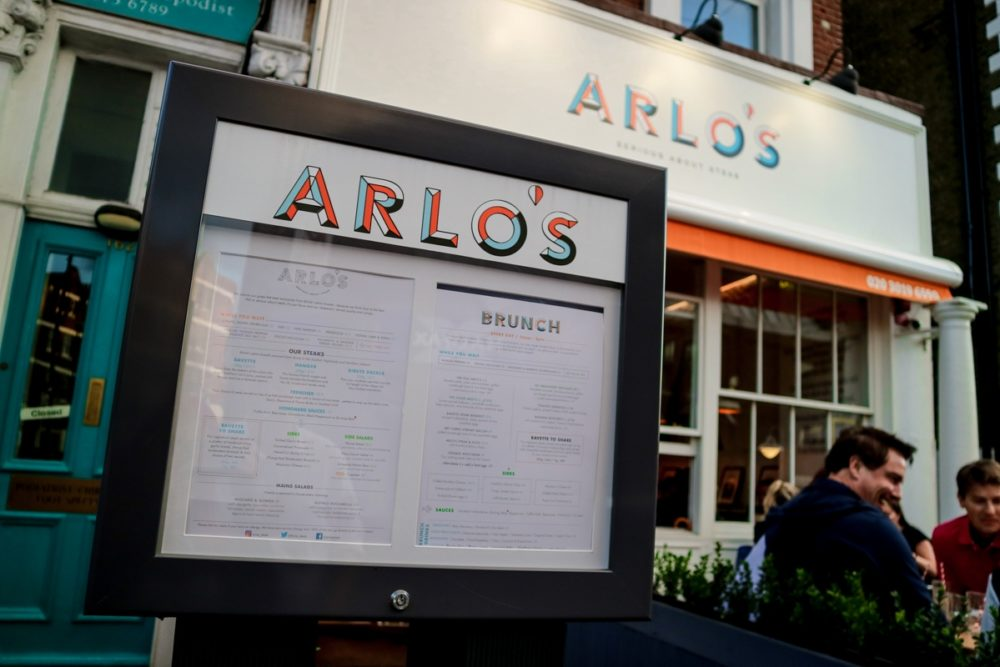 Arlo's Steak Restaurant, Balham