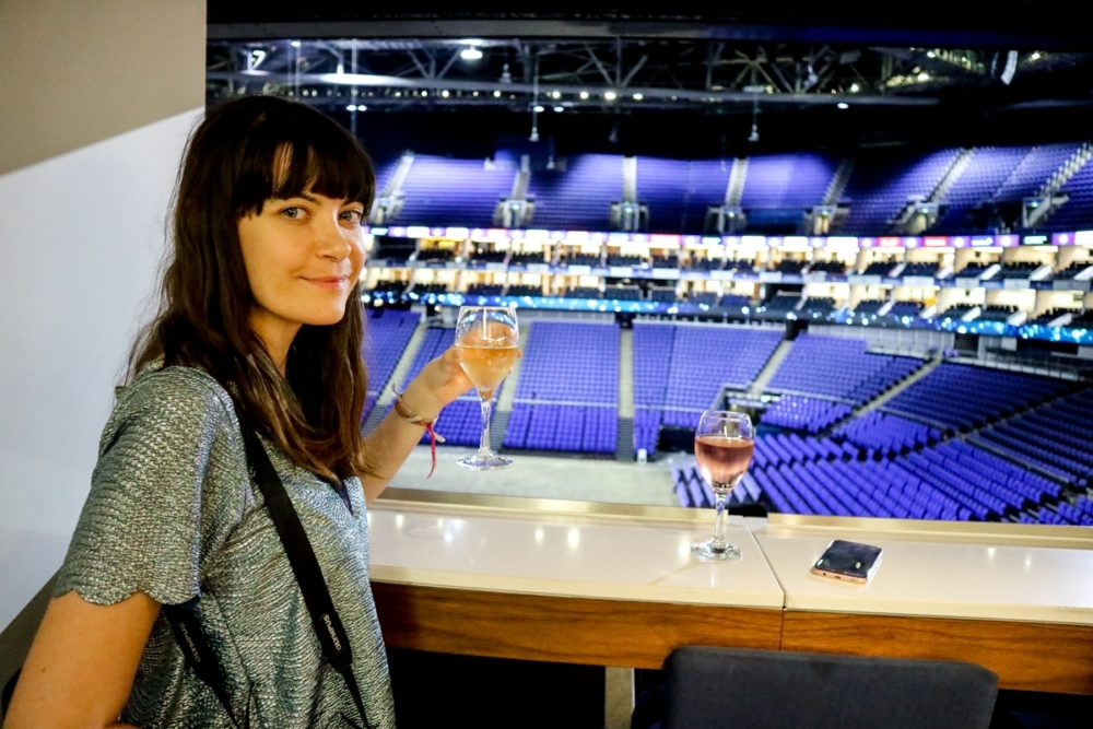 Executive suite at The O2 Arena, London | Mini Adventures