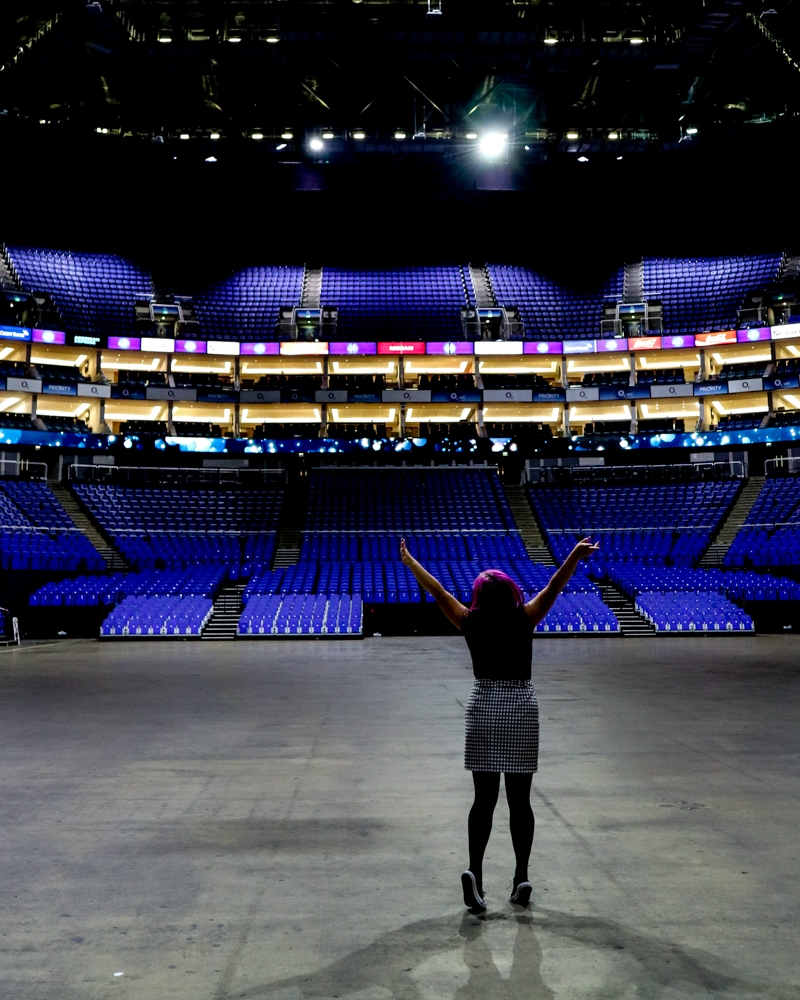 Going backstage at London's O2 Arena