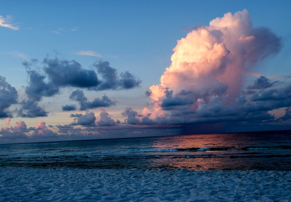 Destin Beach at sunrise, Florida