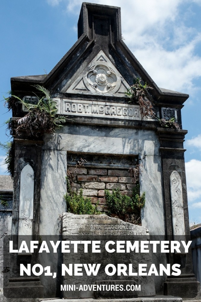 Visiting Lafayette Cemetery No1 | New Orleans Garden District | USA road trip | Places to visit | Dark tourism | Cemetery tour | Historical places | Solo travel | City break