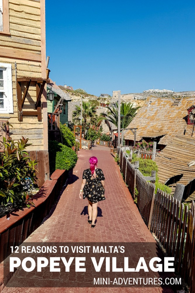 12 Reasons to Visit Popeye Village, Malta | Europe Travel | Summer Holidays | European Vacation | Theme Parks | Seaside Holiday | Couples Travel | Family Travel | Places to Visit in Malta