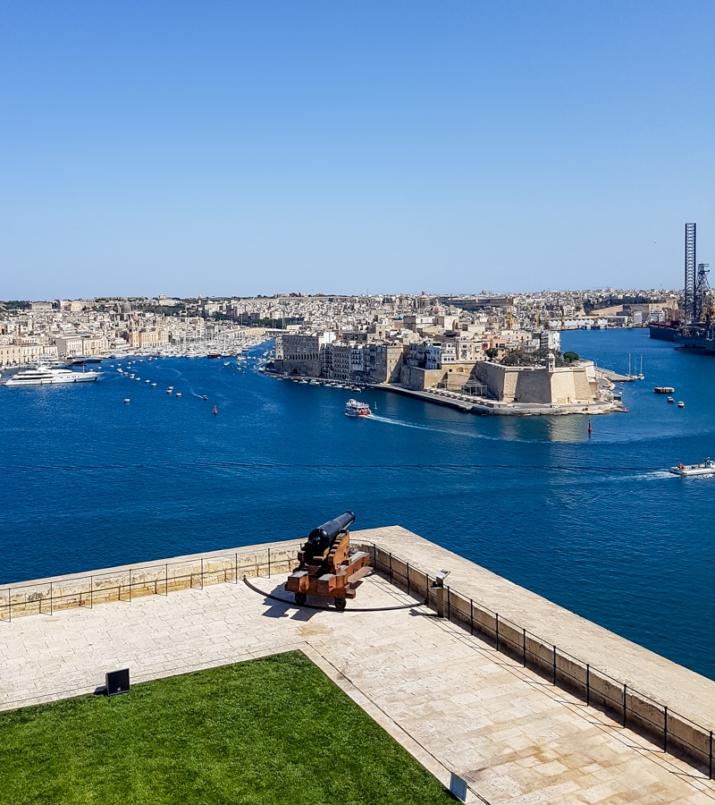 Valetta's Saluting Battery