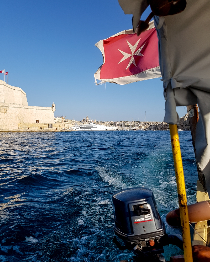 Water taxi in Malta